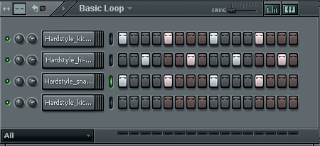 hardstyle loop Step 2