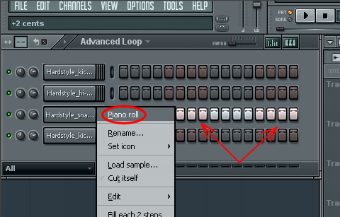 hardstyle loop Step 4