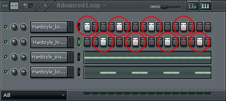 hardstyle loop Step 9